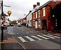 SO9446 : Zebra crossing, High Street, Pershore by Jaggery