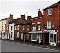 SO9446 : Fordy's Fishing Tackle shop and Jimmy Pickles in Pershore by Jaggery