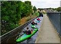 SJ2742 : Canoeing at Pontcysyllte by nick macneill
