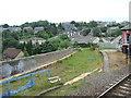 NO3926 : Wormit railway station (site), Fife by Nigel Thompson