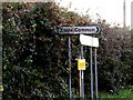 TM1579 : Roadsigns on Norwich Road by Adrian Cable