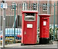 SJ8990 : Postboxes on Exchange Street by Gerald England