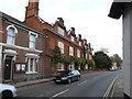 TM1478 : The Street & The Scole Inn Public House by Geographer