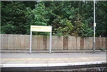 SD8203 : Heaton Park Metrolink Station by N Chadwick