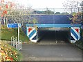 TQ7866 : Pedestrian Subway under Ito Way, Gillingham by Chris Whippet