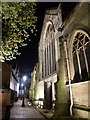 SK5804 : Cobbled alleyway next to Leicester Cathedral by Mat Fascione