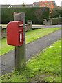 TF3043 : Wortleys Lane Wyberton postbox ref PE21 113D by Alan Murray-Rust