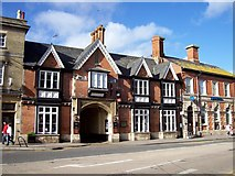 TF0920 : The Angel Hotel, Bourne, Lincolnshire by Rex Needle