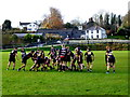 H4572 : Rugby match, Omagh by Kenneth  Allen