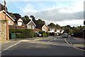 SP2864 : South on Castle Close, Warwick by Robin Stott