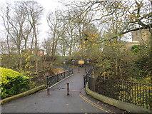 TA1181 : Bridge over Church Ravine by Jonathan Thacker