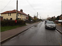 TM1579 : Ransome Avenue & Ransomes Avenue Postbox by Adrian Cable