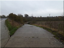 TM1579 : Bridleway to the A140 Scole Bypass by Adrian Cable