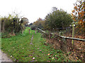 TM1479 : Bridleway to Scole Common Road by Geographer