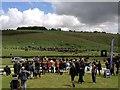 SU1574 : Barbury Castle Horse Trials: cross-country course by Jonathan Hutchins
