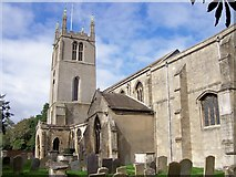 TF0920 : The Abbey Church, Bourne, Lincolnshire by Rex Needle