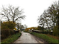 TM1481 : Bridge on Burston Road by Adrian Cable