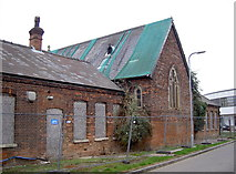 SU1330 : South end of netted chapel by Neil Owen