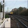 TL4944 : Ickleton: Cambridge train by John Sutton