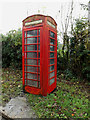 TM1583 : Telephone Box on Dickleburgh Road by Adrian Cable