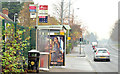 J3973 : Summerhill bus stop, Belfast - November 2014(1) by Albert Bridge