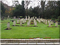 TQ3358 : St Luke, Whyteleafe: Commonwealth war graves by Stephen Craven
