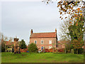 SK6590 : Low Farmhouse, Scrooby by Alan Murray-Rust