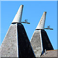 TQ6349 : Cowls at The Maltings by Oast House Archive