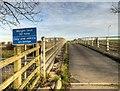 SD5416 : Accommodation Bridge over the M6 Motorway by David Dixon