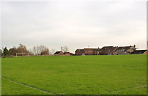 SK6790 : Football field at Mattersey Thorpe by Alan Murray-Rust