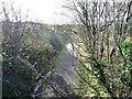 SH4650 : The former Caernarfon - Pwllheli railway line by Christine Johnstone