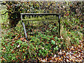 TM2188 : Bullock Hill sign by Adrian Cable