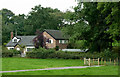 SJ8964 : Detached house near North Rode, Cheshire by Roger  Kidd