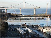 NT1278 : Port Edgar by M J Richardson
