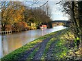 SD5808 : Leeds and Liverpool Canal near Red Rock by David Dixon