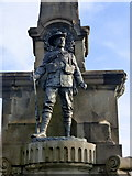 TR1457 : Detail on the South African War Memorial, Canterbury by pam fray