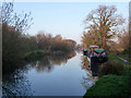 SU2763 : Kennet and Avon Canal east of bridge 97 by Robin Webster