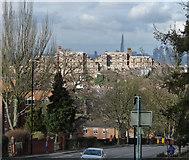 TQ3472 : View down Sydenham Hill by Stephen Richards