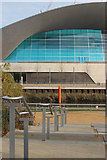 TQ3884 : Aquatics Centre, Queen Elizabeth Olympic Park by Oast House Archive