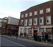 SO8455 : Tesco Express in Foregate Street, Worcester by Jaggery