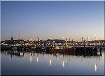 J5082 : Bangor Harbour at dusk by Rossographer