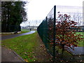 H4572 : Pathway, Omagh Leisure Centre, Omagh by Kenneth  Allen