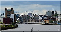 NZ2563 : Tyne riverscape III by Bobby Clegg