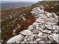 SH2282 : Stone Rampart, Caer y Twr by Chris Andrews