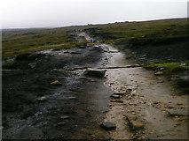 SK1087 : Footpath across Edale Moor by Matthew Chadwick