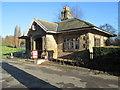 SE3219 : Stork Lodge - Thornes Park by Betty Longbottom