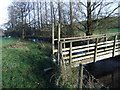 SD5489 : Footbridge near Strickley by David Brown