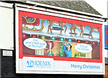 J3272 : Phoenix Gas Christmas poster, Belfast (December 2014) by Albert Bridge