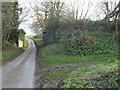 TF8526 : Dismantled railway bridge near Helhoughton, Norfolk by Richard Humphrey