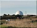 TG2838 : RAF Trimingham radar station dome by Adrian S Pye